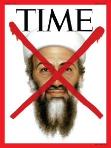 Couverture du Time Magazine à la suite de l'annonce de la mort d'Oussama Ben Laden